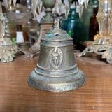 Campana Antigua Colonial De Bronce, Arte Sacro