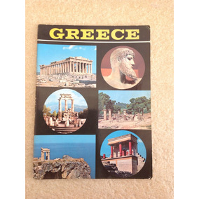 Antigo Livro Catálogo De Turismo Da Grécia Em Inglês