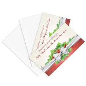 Postal, Agradecimento Voucher 148x88mm