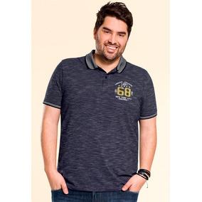 40e3bc79d Camisa Pólo Plus Size Wee! Malwee Masculina