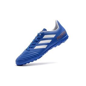 Chuteira Adidas Numero 4445 Brasil Adultos Society - Chuteiras Azul ... 0be8287147ddd