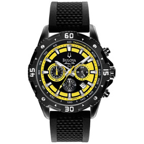 Relógio Masculino Analógico Cronógrafo Bulova Star Wb31738y