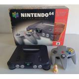 Consola Nintendo N64 Classic En Caja Excelente