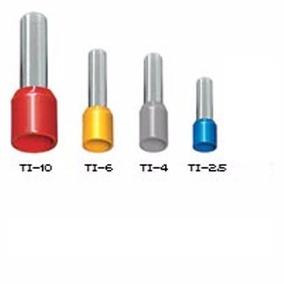 Terminais Tubulares Tipo Ilhós Pré Isolados Kit (450pçs)