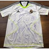 f1aabee355824 Camisa Real Madrid Autografada Cristiano - Camisa Real Madrid ...