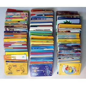 Lote 400 Cartões Telefonicos Diferentes Usados Maioria Ctbc