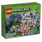 Brinquedo Lego Minecraft A Caverna Da Montanha 21137 193965abd90