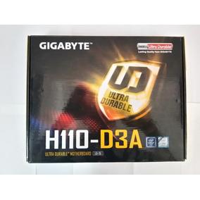 Tarjeta Madre Gigabyte H110-d3a + Procesador + Ram