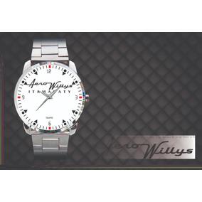 8ac99504504 Relógio De Pulso Personalizado Emblema Willys Itamaraty 1966