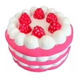 Squishy Torta Frutilla Slow Rising Jumbo Kawaii E Soundgroup
