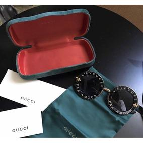 62acdbb1fc96d Gucci L aveugle Oculos - Óculos no Mercado Livre Brasil