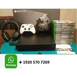 X Box One X 1tb / S 1tb + 2 Controllers + 10 Games+vr