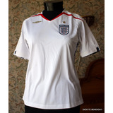 England Football By Umbro 2007-2009 Camiseta Ts