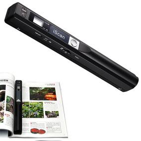 Scanner Portatil De Mão Sem Fio Super 900dpi Usb Micro Sd