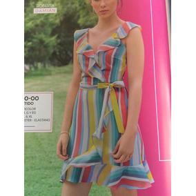 Vestido Multicolor 300-00 Cklass