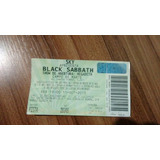 Ingresso Black Sabbath Campo De Marte Sp
