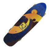 Semi Longboard Skate Madeira Profissional Hang Ten Ht11900