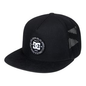 Gorra Dc Mod Markerson Trucker Negro Blanco!! 100% Original! c4a0546ef8b