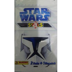 Star Wars Staks 20 Pacotinho Lacrado C/ 2 Staks E 1 Megastak