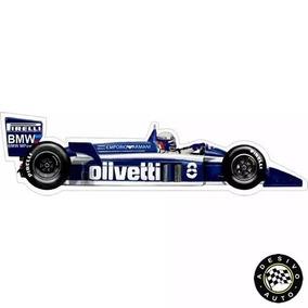 Adesivo Brabham Bt55 Elio De Angelis 1986 F1 Formula 1 Carro