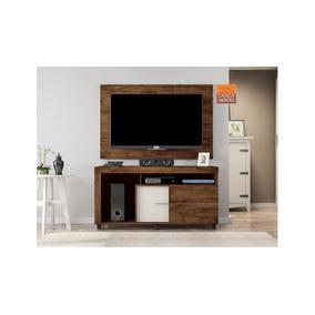 Mueble De Tv Con Panel Y Equipo De Sonido Mod. Prince