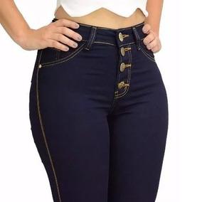 Calça Jeans Feminina Hot Pants Cintura Alta Com Lycra Barato