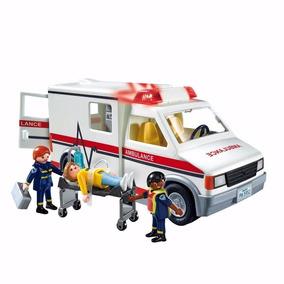 Playmobil City Action Ambulância De Resgate 5681 Sunny
