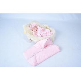 Kit Saída Maternidade Menina Inverno Soft E Saco De Dormir