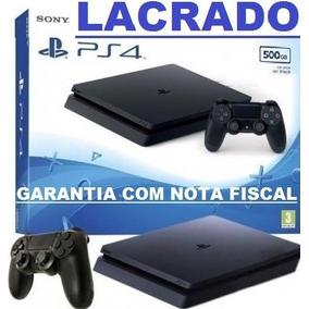 Playstation 4 Slim 500gb Original Ps4 Bivolt 1 Ano Garantia