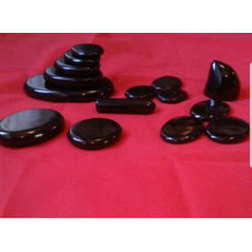 Piedras Para Masaje Marmol Negro