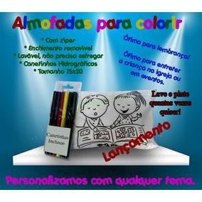 Kit 20 Almofadas Para Colorir!