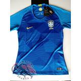 Camisa Brasil Azul Feminina - Camisa Brasil no Mercado Livre Brasil d22b63a03275e