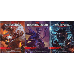Dungeons & Dragons 5e Core Rule Books Kit Completo - Rpg