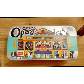Lata Galletitas Obleas Opera Aniversario 110 Años