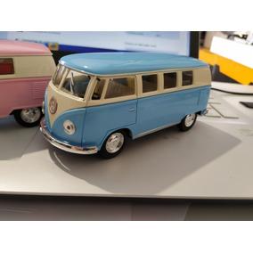 Kit 10 Miniatura Volkwagen Kombi 1962 Coleção Escala 1:32