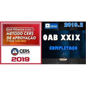 Combo Oab Xxix 29 + Xxviii 28 Primeira Fase