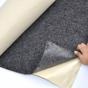 Placa De Feltro Carpete Adesivo / 1 Mts X 1mts