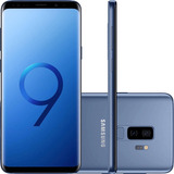 Smartphone Samsung Galaxy S9+ Azul, Tela 6.2 , 128gb