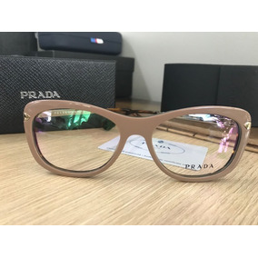 94a64dd23 Armacao Oculos Nude Prada - Óculos no Mercado Livre Brasil