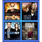 Csi New York - Miami - Major Crimes - Cold Case + Encarte.