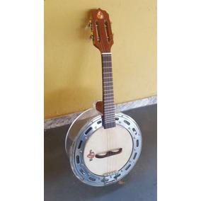 Banjo Em Acrílico Caixa De 10 Exclusivo Emerson Brasa Music