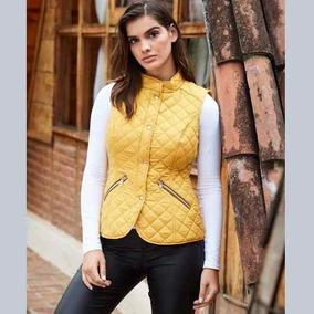Chalecos de Mujer Ocre en Mercado Libre México 09ed9c542d3ab