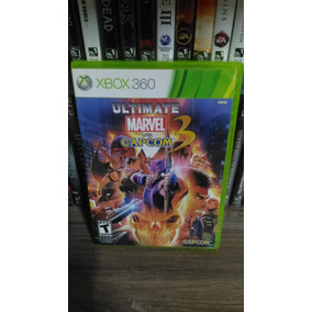 Ultimate Marvel Vs Capcom 3 Xbox 360 Original Mídia Física