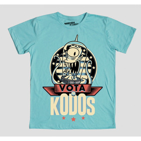 Vota Kodos Los Simpson Playera Máscara De Látex