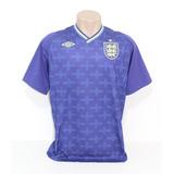 Camisa Inglaterra Goleiro Azul Umbro no Mercado Livre Brasil c21d576b6d9a8