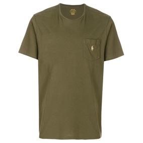 Camiseta Slim Fit Ralph Lauren - Calçados 602c39796e4