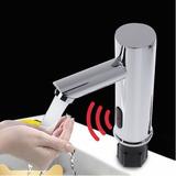 Grifo Automatico Con Sensor En Cuello Recto Valvula Ysg8007