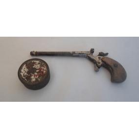 Antiguo Matagatos Tiro De Salon Con Municiones