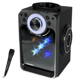 Caixa Port.amplificada Satellite Bluetooth/usb/sd/led/bivolt