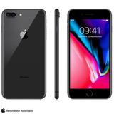 iPhone 8 Plus Cinza Espacial, Com Tela De 5,5, 4g, 64 Gb